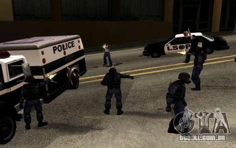SWAT de Manhunt 2 para GTA San Andreas segunda tela