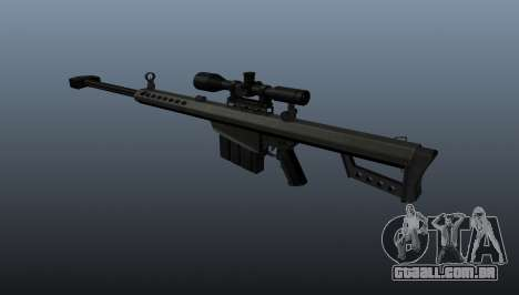 Rifle de sniper Barrett M82A1 para GTA 4 segundo screenshot