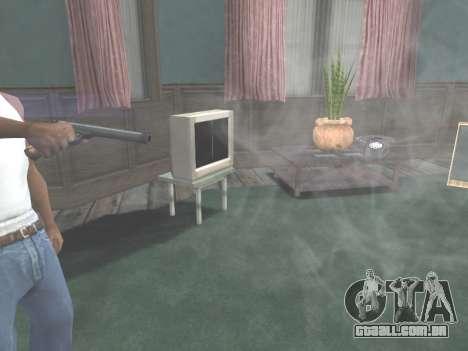 Ruger .22 para GTA San Andreas quinto tela