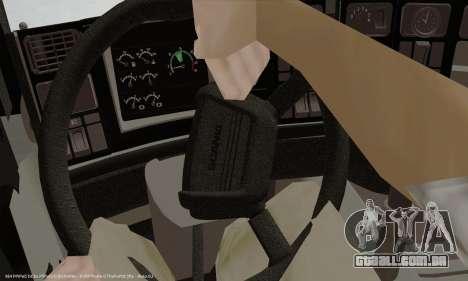 Painel ativo v. 3.2 completo para GTA San Andreas por diante tela
