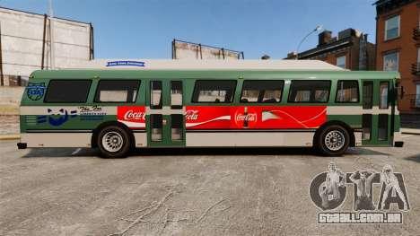 Real publicidade em táxis e autocarros para GTA 4 terceira tela