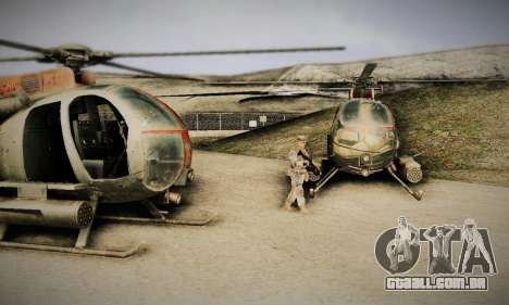 Spec Ops The Line AH6 para GTA San Andreas