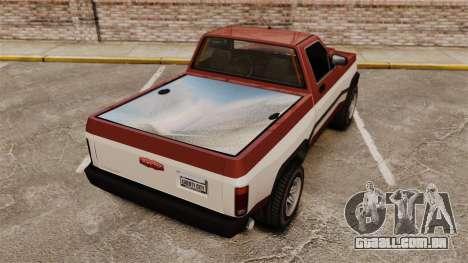 Declasse Rancher 1998 v2.0 para GTA 4 traseira esquerda vista