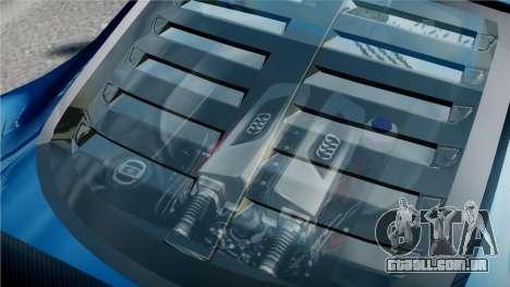 Audi R8 LMS para GTA 4 vista superior