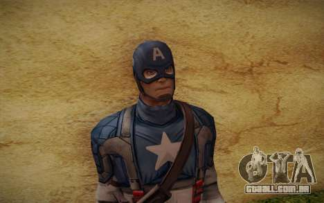 Captain America: First Avenger para GTA San Andreas terceira tela