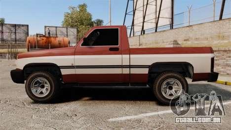 Declasse Rancher 1998 v2.0 para GTA 4 esquerda vista