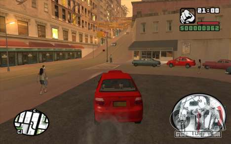 Speedometr da Rockstar para GTA San Andreas terceira tela