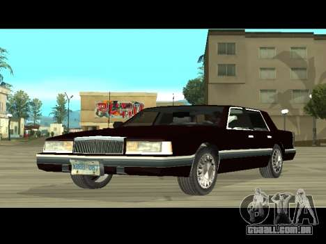Willard HD (Dodge dynasty) para GTA San Andreas esquerda vista