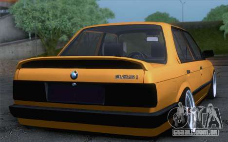 BMW E30 325i para GTA San Andreas esquerda vista