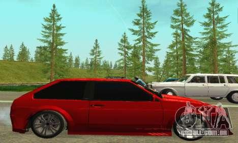 VAZ 2108 Aarr estilo para GTA San Andreas traseira esquerda vista