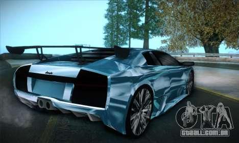 Lamborghini Murcielago GT Coloured para GTA San Andreas esquerda vista