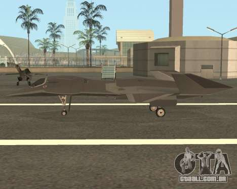 FA-37 Talon para GTA San Andreas esquerda vista