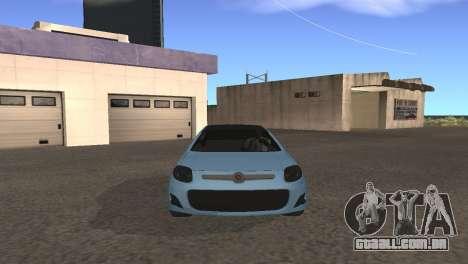 Fiat Palio 2014 para GTA San Andreas esquerda vista