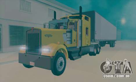 Kenworth W900L para GTA San Andreas