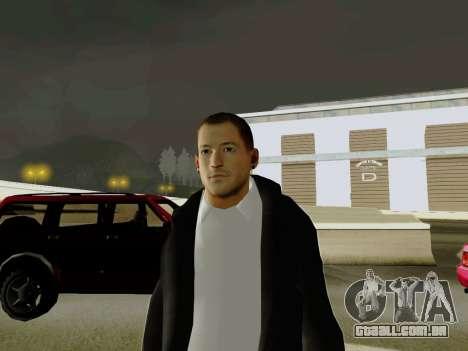 Chester Bennington para GTA San Andreas segunda tela