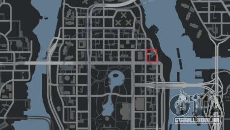 Delegacia de polícia de Raccoon para GTA 4 sexto tela
