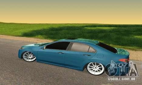 Honda Accord Tuning para GTA San Andreas vista traseira