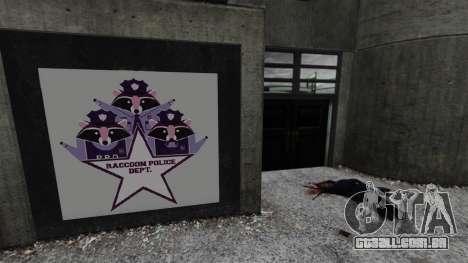Delegacia de polícia de Raccoon para GTA 4 segundo screenshot