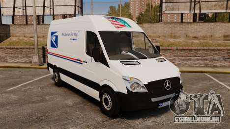 Mercedes-Benz Sprinter US Mail para GTA 4