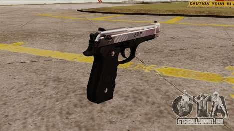 Carregamento automático pistola Beretta M92 para GTA 4 segundo screenshot