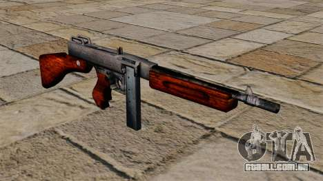 Submetralhadora Thompson M1a1 para GTA 4