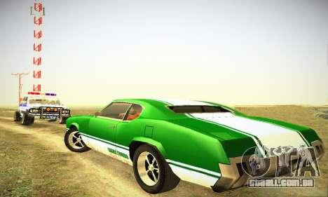 GTA IV Sabre Turbo para GTA San Andreas vista direita