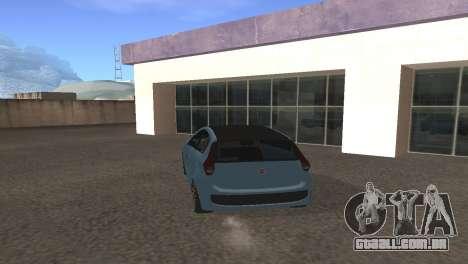 Fiat Palio 2014 para GTA San Andreas vista direita