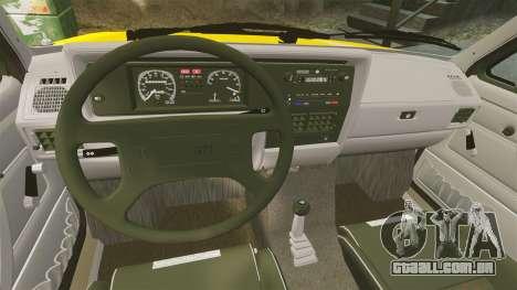 Volkswagen Caddy para GTA 4 vista interior