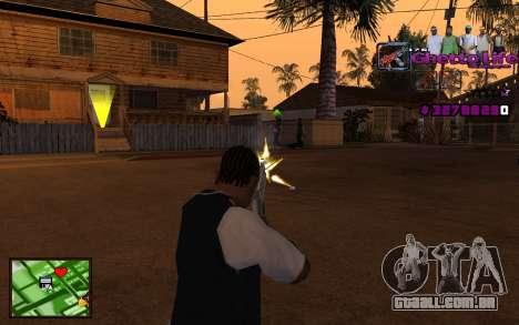 Com a vida de HUD-Getto para GTA San Andreas terceira tela
