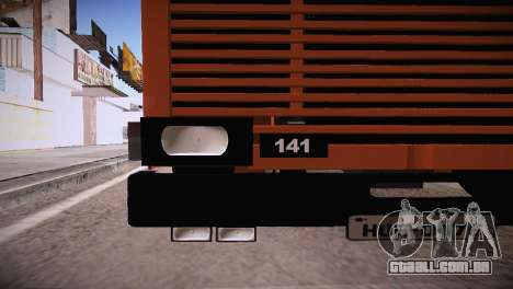 Scania LK 141 6x2 para GTA San Andreas traseira esquerda vista