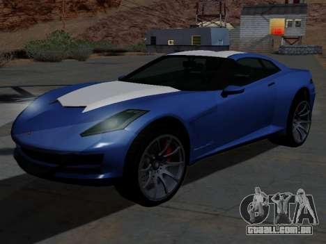 Coquete de GTA 5 para GTA San Andreas