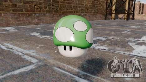 Cogumelo romã Mario para GTA 4