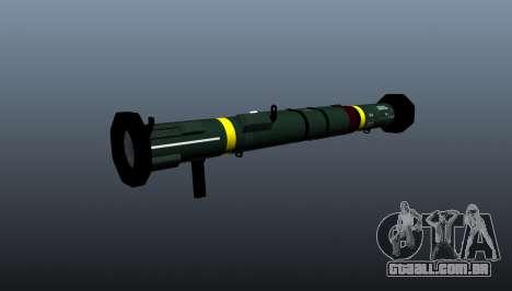Lançador de granadas anti-tanque AT4 CS HP para GTA 4