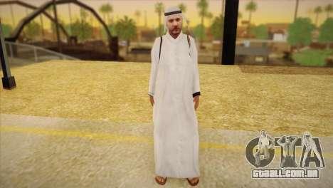 Sheikh árabe para GTA San Andreas
