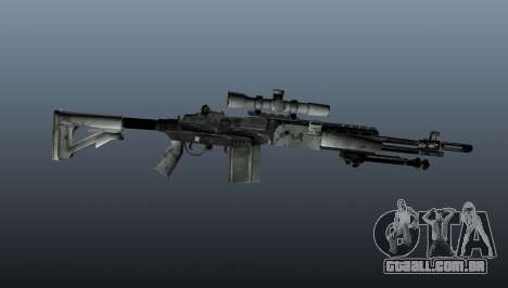 Rifle sniper M21 Mk14 v1 para GTA 4 terceira tela