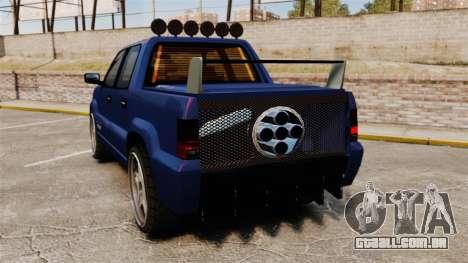 FXT Ultima para GTA 4 traseira esquerda vista