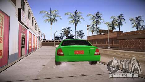 Mazda Protege para GTA San Andreas esquerda vista