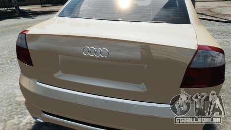 Audi S4 2004 para GTA 4 vista direita