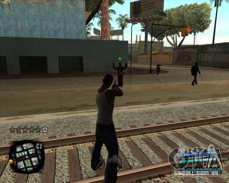 C-HUD by Menson para GTA San Andreas segunda tela
