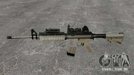 Automático M4 Red Dop v1 para GTA 4 terceira tela