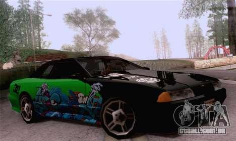 O trabalho de pintura para a elegia para GTA San Andreas