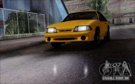 Road Reflections Fix 1.0 para GTA San Andreas segunda tela