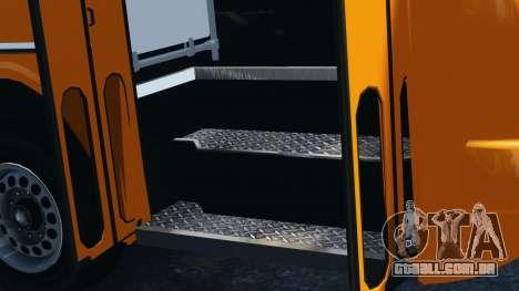 Ikarus 260 para GTA 4 vista de volta