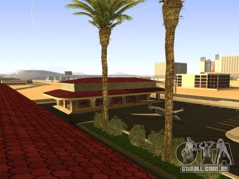 V 1.0 de Las Venturas de estação ferroviária para GTA San Andreas