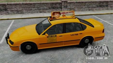 Real publicidade em táxis e autocarros para GTA 4 oitavo tela