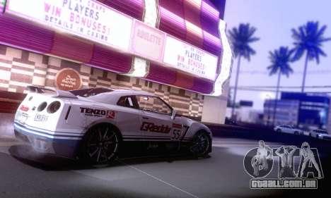 ENBSeries SA_PGAD por ArturIce v 1.0 para GTA San Andreas por diante tela