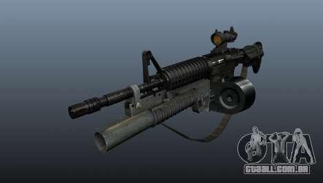 M4 automático C-Mag para GTA 4