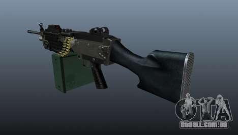 Atualizado M249 metralhadora leve para GTA 4 segundo screenshot