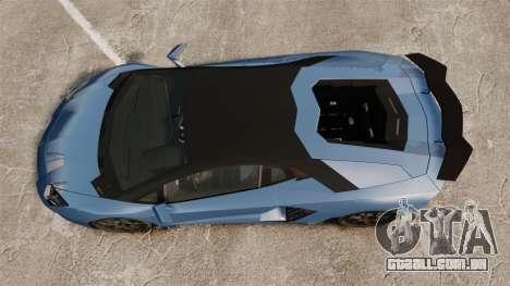Lamborghini Aventador LP760-4 Oakley Edition v2 para GTA 4 vista direita