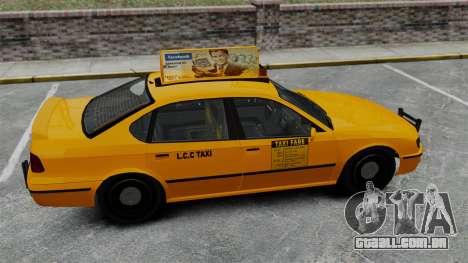 Real publicidade em táxis e autocarros para GTA 4 sétima tela